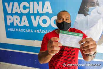 Itapevi inicia vacinação contra Covid-19 para pessoas entre 40 e 44 anos com comorbidades - Correio Paulista