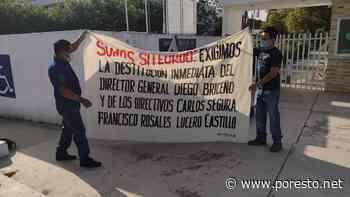 Trabajadores exigen destitución de directivos del Tecnológico de Felipe Carrillo Puerto - PorEsto