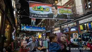 Präsidentenwahl in Syrien: Baschar al-Assad auf dem Weg in vierte Amtszeit - MDR