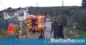 Incendio en Virgen Misionera - Bariloche 2000