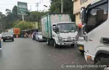 Desbloqueada la glorieta de Versalles, se normaliza el tránsito entre Calarcá y Cajamarca - El Quindiano S.A.S.