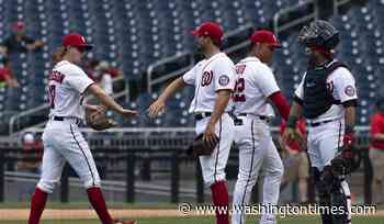 Nationals beat Reds 5-3 in completion of suspended game