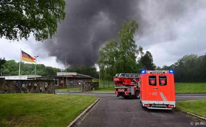 Feuer in Rheinbach: Brand im Munitionslager - ga.de
