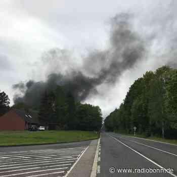 Ermittlungen nach dem Großbrand in Rheinbach - radiobonn.de