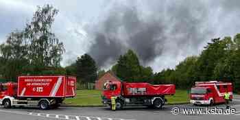 Diesellastzug brennt: Feuer auf Gelände des Bundeswehrmunitions-Depots in Rheinbach - Kölner Stadt-Anzeiger
