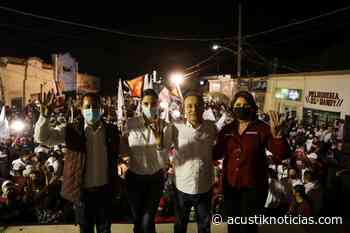 Alfonso durazo hace cierre de campaña en Nacozari, Cananea y Agua Prieta - Acustik Noticias