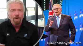 'Held back': Richard Branson slams Australia's vaccine rollout - Yahoo Finance Australia
