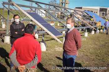 Gualeguaychu: Alcanzó un 40% el montaje del nuevo Parque Solar - Revista Nuevas Energías