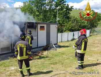 Pianella, impianto fotovoltaico distrutto dalle fiamme - Rete8