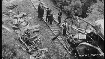 Vor 50 Jahren: Das Zugunglück in Radevormwald - WDR Nachrichten