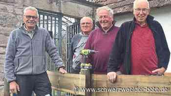 Waldachtal - Schaffige Rentner krempeln die Ärmel hoch - Schwarzwälder Bote
