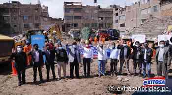 Junín: Inician construcción del hospital Pedro Sánchez Meza de Chupaca - exitosanoticias