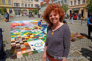 Kamenz: 6.000 Woll-Quadrate für den Hutbergturm - Sächsische.de