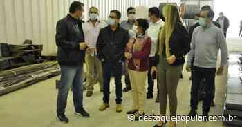 Pinheiral recebe duas novas empresas de aço no Polo Industrial do... - Destaque Popular