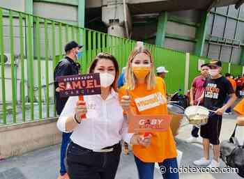 Gaby Lugo y Mariana Rodríguez se pintan de naranja - Noticias de Texcoco