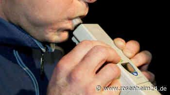 Raubling: Am 24. Mai flieht Betrunkener mit 1,6 Promille vor Polizeikontrolle und wird dann geschnappt - rosenheim24.de