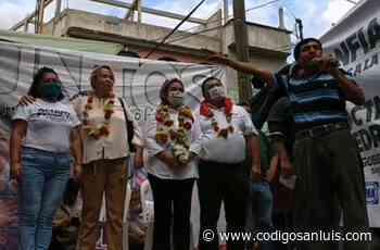 [VIDEO] ¡Que muera el PRI!; claman en evento del PRI en Tamazunchale - Código San Luis