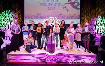 Fries kampioen Melle Talsma uit Achlum geniet van Nationale Voorleeswedstrijd - Friesch Dagblad