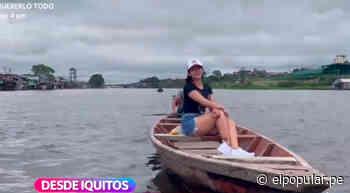 Linda Caba realiza segundo reportaje desde Iquitos para En Boca de todos - ElPopular.pe