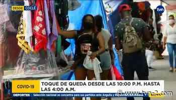 Reacción a medida de toque de queda en Coclé - TVN Panamá
