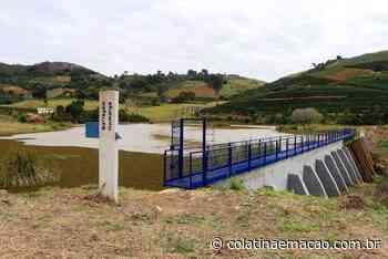 Governo do ES inaugura três barragens em Santa Teresa - Colatina em Ação
