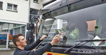 Straßenschäden werden in Bad Driburg jetzt per Smartphone erfasst - Neue Westfälische