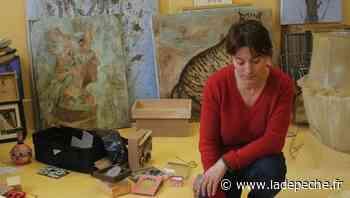 Exposition à Carmaux : Marianne Catroux à l'office - ladepeche.fr