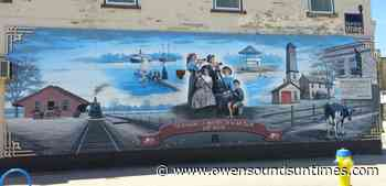 Downtown Port Elgin heritage mural is weeks away from permanent removal - Owen Sound Sun Times