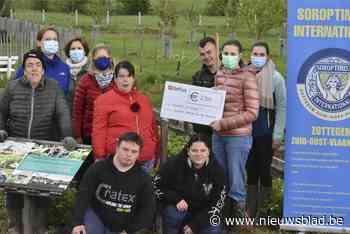 Leefboerderij krijgt 250 euro van Soroptimisten