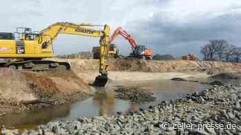Bauarbeiten am Wehr Osterloh – Aller-Radweg ab 11. Mai gesperrt – Start des Brückenneubaus am 17. Mai - Celler Presse