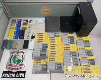 Dupla investigada por fraudes bancárias é presa em Itapipoca em desdobramento de ações da Polícia Civil do Ceará - Ceará
