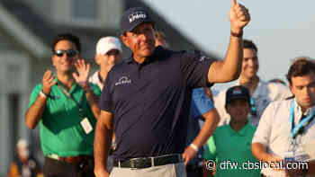 Phil Mickelson Ready To Make More History At Charles Schwab Challenge In Fort Worth - CBS Dallas / Fort Worth