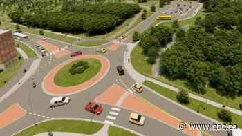 Work on new Fredericton roundabout to begin next week - CBC.ca
