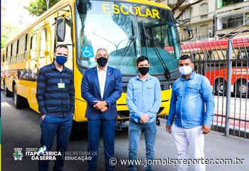 SP Itapecerica da Serra recebe mais um ônibus escolar - Jornal SP Repórter News