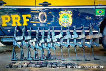 PRF apreende 12 fuzis na rodovia Régis Bittencourt, em Itapecerica da Serra - Portal O Taboanense
