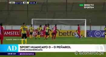Copa Sudamericana: Así le fue a Sport Huancayo ante Peñarol - El Comercio Perú