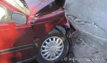 Automobile sbatte contro un muro nel comune di Andora: uomo in codice rosso - Primocanale