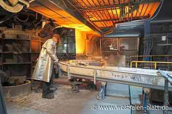 Meierguss in Rahden betreibt einen kleinen Hochofen – Sicherheit geht vor – Leitwarte immer besetzt: Hier brodelt flüssiges Eisen - Rahden - Westfalen-Blatt