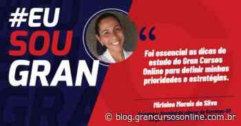 Residências: Mirlaine da Silva foi aprovada no hospital de câncer de Barretos SP - Gran Cursos Online
