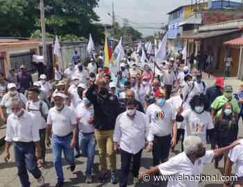 AD tras recorrido en Guanare: Construiremos un equipo que le devuelva la democracia a Venezuela - El Nacional
