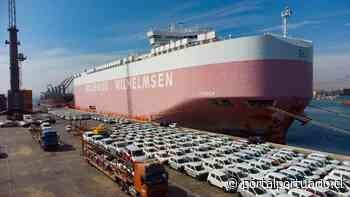 Terminal Puerto Arica recibe la mayor transferencia de vehículos de su historia - PortalPortuario