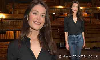 Gemma Arterton looks casually chic at press night for Walden - Daily Mail