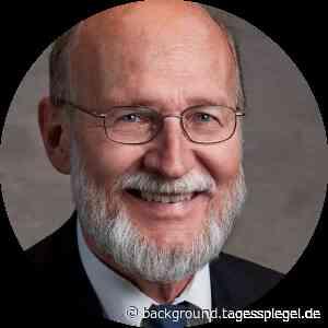 Porträt von Hans Ulrich Buhl - Tagesspiegel Background