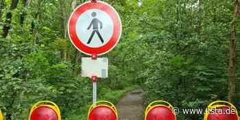 Bedburg: Wanderweg entlang der Mühlenerft bis Herbst gesperrt - Kölner Stadt-Anzeiger
