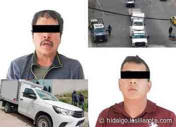 Aseguran a dos personas en Tizayuca por el robo de equipo de cómputo - La Silla Rota