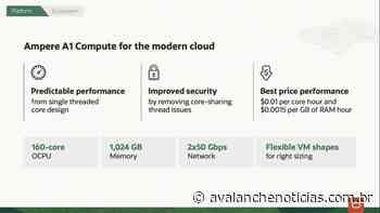 Armar instâncias Ampere A1 apareceu na nuvem Oracle: até 160 núcleos e 1 TB de RAM - Avalanche Noticias