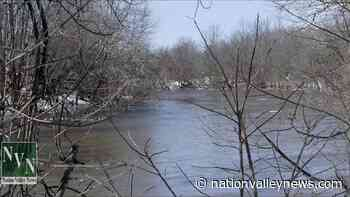Annual South Nation River freshet in full flush through Chesterville   Nation Valley News - Nation Valley News
