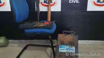 Em Miracema do Tocantins, Polícia Civil apreende armas de fogo e objetos furtados - Conexão Tocantins