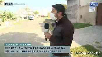 Taradão do xaxim: reduz a velocidade da moto pra passar a mão na vítima - RIC Mais Paraná