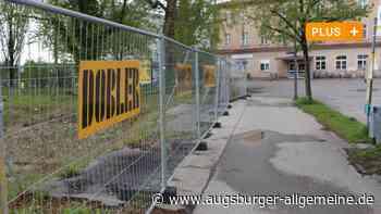 Keine Eile beim Bauen: Brachfläche am Bahnhof Mindelheim bleibt - Augsburger Allgemeine